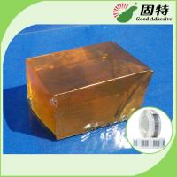 Quality Yellow and Transparent Block Solid Glue Hot Melt for Coated of Hot Melt Tapes Brands and Labels wholesale