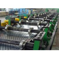 China Galvanised Perforated Metal Steel Cable Tray Protection Roll Forming Making Machine on sale