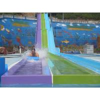 Buy cheap China Guangxi  30,000 Fiberglass  Water Slide / Wave Pool  / Family Water Playground Water Park from wholesalers