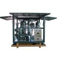 Quality Highly effective vacuum transformer oil regeneration system/insulation oil reclamation machine wholesale