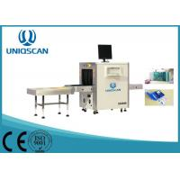 Quality Multi Energy 600 * 400 mm X Ray Baggage Scanner With 40AWG Wire Resolution wholesale