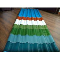 Quality customized color CGCC, DX51D Z adornment Pre painted Corrugated steel Roof Sheets / Sheet wholesale