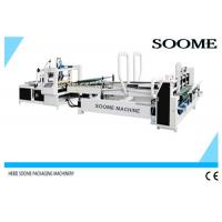 China High Speed Automatic Folder Gluer Glue Circulation For Small Express Box , 140 M/Min on sale