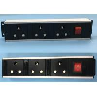 Buy cheap South Africa 3 Way Multi Socket Power Strip , Metal Flat Plug Power Bar from wholesalers