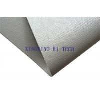 Quality Gray Color Silicone Coated Fireproof Fiberglass Fabric High Insulation Performance wholesale