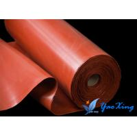 China High Performance Flame Resistant Cloth Textile Silicone Compound Fiberglass Cloth Industrial Fireproof on sale