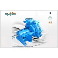 Quality Rubber Slurry Pump Individually Tailored for Your Duty like Iron Ore and Chemicals wholesale