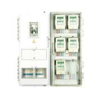China Single phase plastic transparent KWH energy meter box for domestic 750×770×120mm on sale