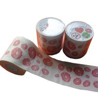 Quality where to buy printed toilet paper  2ply  250 sheets 100% virgin pulp loo roll printed wholesale