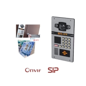 China ONVIF Vandal Resistant 1.3 Megapixel Apartment Video Intercom on sale