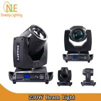 Quality Factory price 230w sharpy 7r beam moving head light Onetop Lighting wholesale