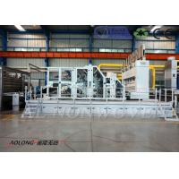 Quality Stiff Waddings And Glue-free / Thermal Bonded Waddings Carding Machine Width 2500MM wholesale