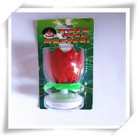Quality Music candles Lotus shaped single layer art candles rotating candles wholesale