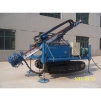 Quality Air Anchor Drilling Rig Full Hydraulic Water Drilling Machine For Soil Sand Stratums wholesale