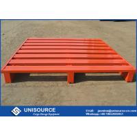 Quality Customized Stackable Steel Pallets Corrosion Resistant Heavy Duty Pallets wholesale