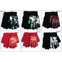 Quality kids' knitted gloves acylic gloves SK035-sk040 beautiful style children magic gloves wholesale