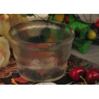 Quality Bubble Effect Color glass salad bowl big fruit for household tableware wholesale