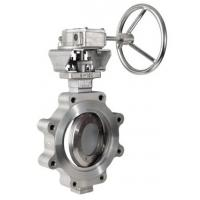 Quality Stainless Steel Butterfly Valve Zero Leakage WCB CI Material OEM Service wholesale