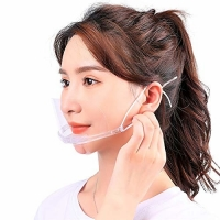 Quality Slipping Resistant Transparent Plastic Face Mask For SPA wholesale