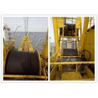Quality Small Size Tower Crane Winch 6 Ton / 8 Ton With Special Drum Grooving wholesale