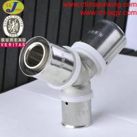 Quality press fittings for pex-al-pex pipe Y type fittings wholesale