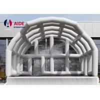 Cheap Creative Inflatable Stage Cover, Inflatable Stage Roof For Band Performance for sale