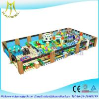 Quality Hansel children soft playground play area equipement indoor and outdoor wholesale