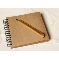 Quality Wedding Guestbook // Kraft Scrapbook Album // Spiral Bound // Kraft photo album/ wedding g wholesale