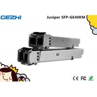 Quality Juniper SFP - GE40KM - 1000Base EX sfp transceiver module fiber optic lc connector 40 Km 1310 nm wholesale