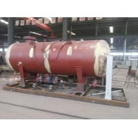 China 12m3 mobile skid mounted lpg propane gas filling station for sale, factory sale best price 6tons skid lpg gas plant on sale