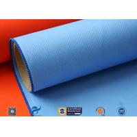 Quality E-glass 0.5mm Silicone Coated Glass Cloth For Heat Insulation Cover wholesale