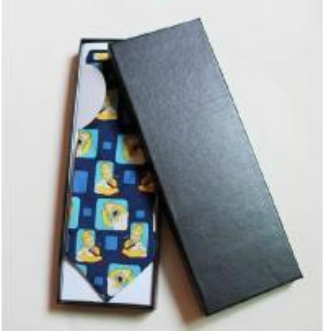 China Newest Custom made tie gift box,paper tie packaging box,solid tie packaging box on sale
