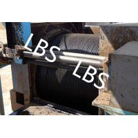 Quality Oil / Petroleum Machinery Anchor Handling Towing Winch With Lebus Drum wholesale