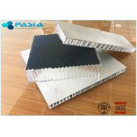 Quality High Rigid Aluminum Honeycomb Core Board , Honeycomb Material For Sandwich Panels wholesale