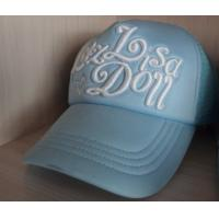 Quality 3D embroidery caps with logos display, custom hat embroidery,  55 *37*57cm ,100% cotton wholesale