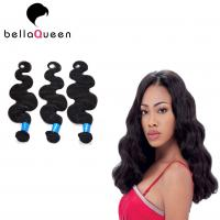 China Double Drawn 100 Indian Remy Human Hair No Tangle And No Shedding on sale