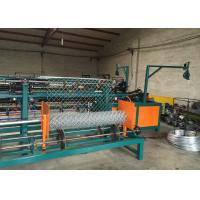 Quality Industrial PLC System Control Chain Link Machine For Weave Chain Link Fence wholesale