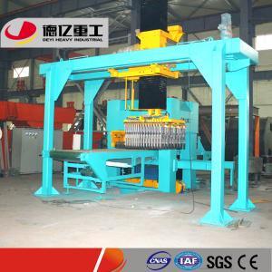 China DEYI Hydraulic Automatic Brick Making Machine Price with Annual Output of 20-80 Million PCs on sale
