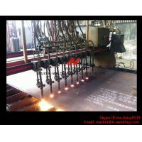Quality Flame CNC Gantry Cutting Machine Single Side Drive For Plate Cutting 5000mm Rail span wholesale