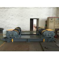 Buy cheap Dual PU Wheel Welding Pipe Turning Rolls / Conventional Welding Rotator Loading 200T Pressure Vessel product