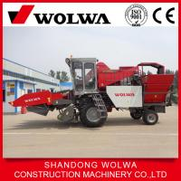 China new condition maize combine harvester Wolwa W4YM-3A Chinese harvester on sale