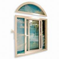 Quality German Style Casement UPVC Window/Door Frame with Arch Top, Customized Requirements are Accepted wholesale