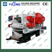 China Drum wood trunk chipper on sale
