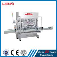 Quality Guangzhou LIENM Factory Full Automatic Shampoo Hair Conditioner Gel Detergent Soap Filling Machine Filling Line wholesale