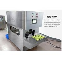 China 0.8Mpa Air Pressure Apple Peeler Machine With Electric Components on sale