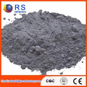 Cheap Gray Steel Fibre Reinforced Low Cement Castable YH-F16K For Kilneye / Feed for sale