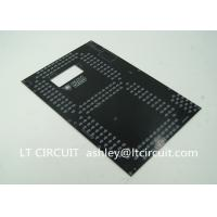 Quality FR4 Double Sided PCB Black Solder Mask OSP Surface Plating Bulk wholesale