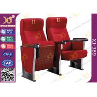 China Anti Stained PU Molded Foam Auditorium Furniture Foldable Audience Seating Chairs on sale