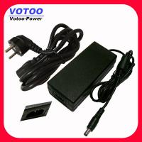 Quality RoHS Desktop 48W 12 Volt 4 Amp AC DC Power Adapter With AC Cord For Satellite Receiver wholesale