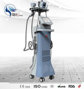 Quality 50 W Vertical Body Sculpting Machine , RF Ultrasonic Cavitation Machine wholesale